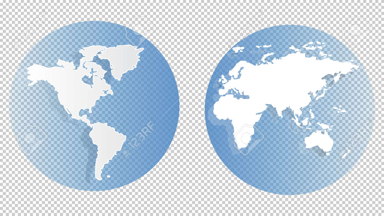 World map on transparent background concept of the world royalty vector world map on transparent background concept of the world for web and mobile applications isolated vector illustration creative template design gumiabroncs Image collections