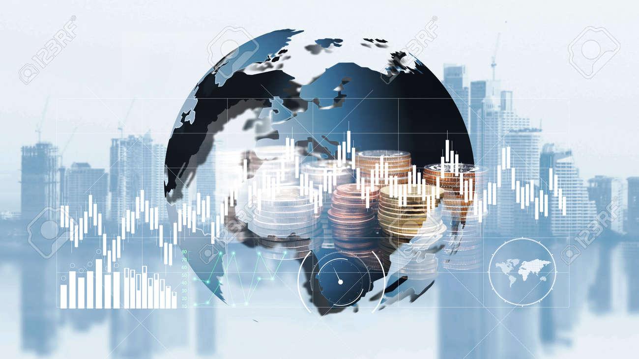 world finance moeny exchange - 108802251
