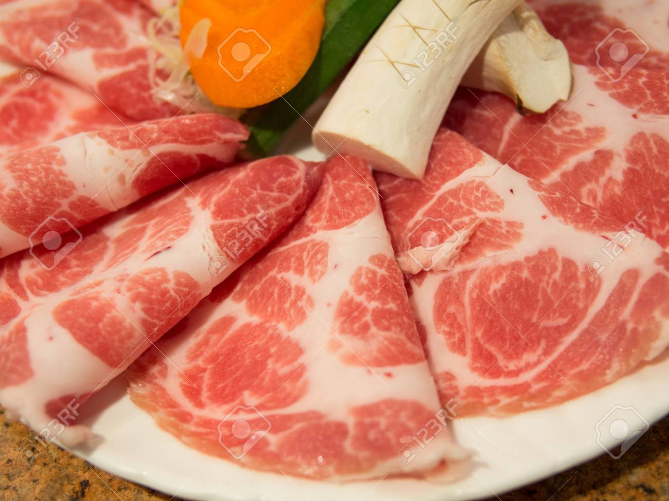 Freshness meat for BBQ Stock Photo - 18998559