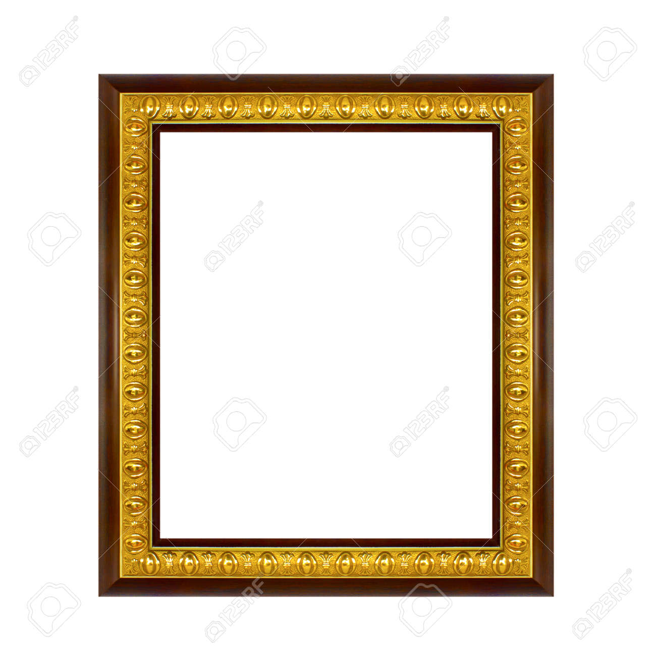 The frame isolated on the white background Stock Photo - 15146352