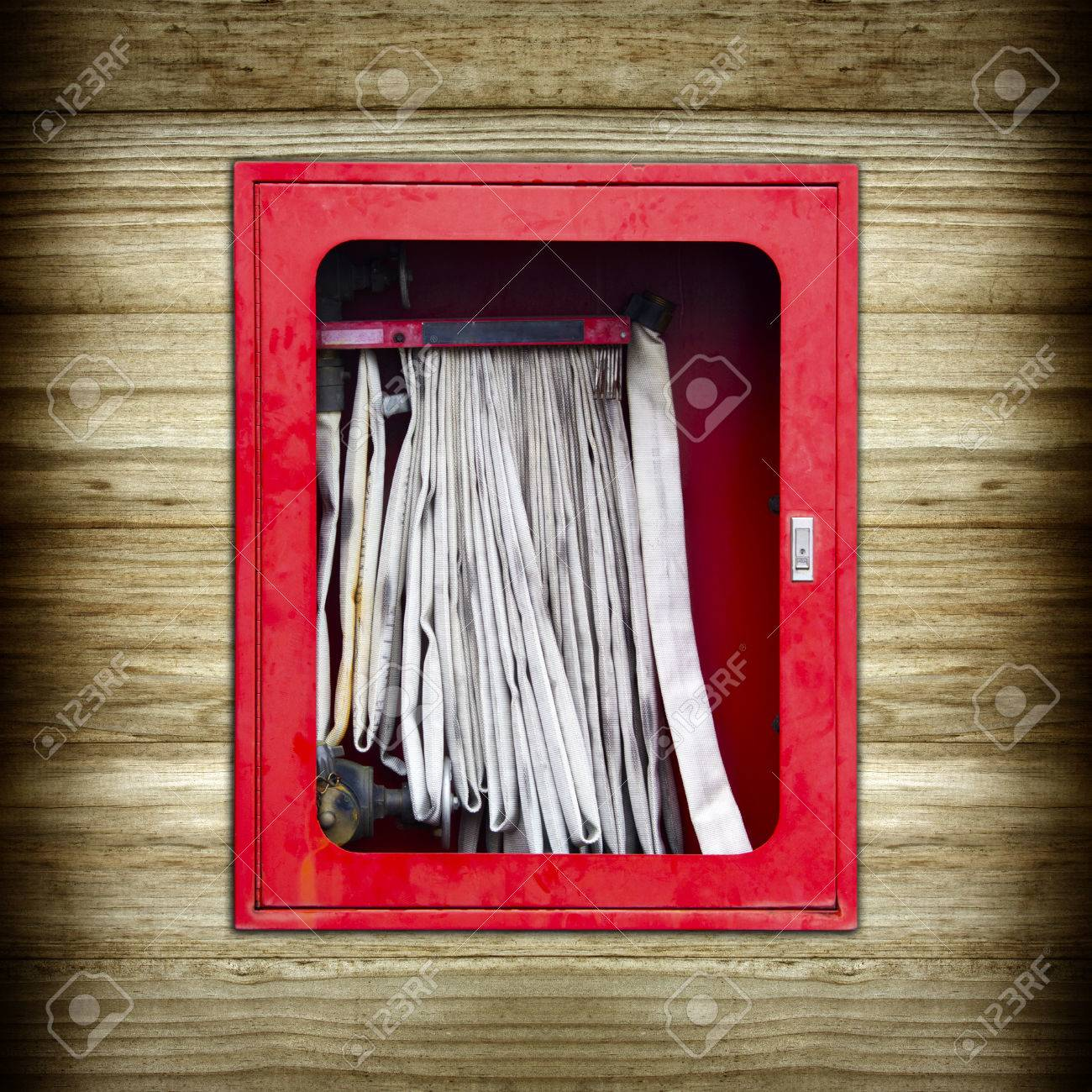 American Fire Hose And Cabinet Fire Hose Cabinet Stock Photos Images Royalty Free Fire Hose