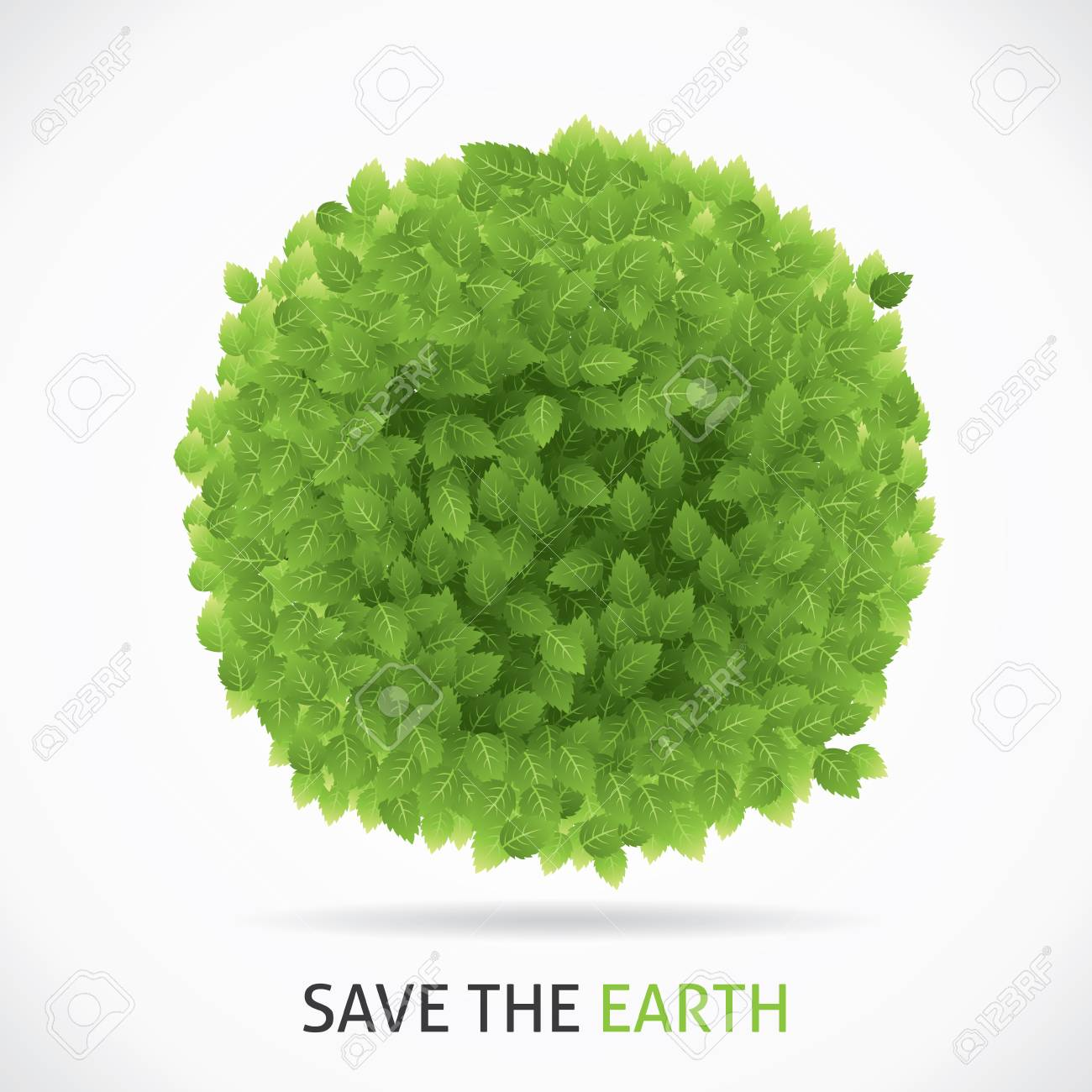 Save the earth Stock Vector - 20010486