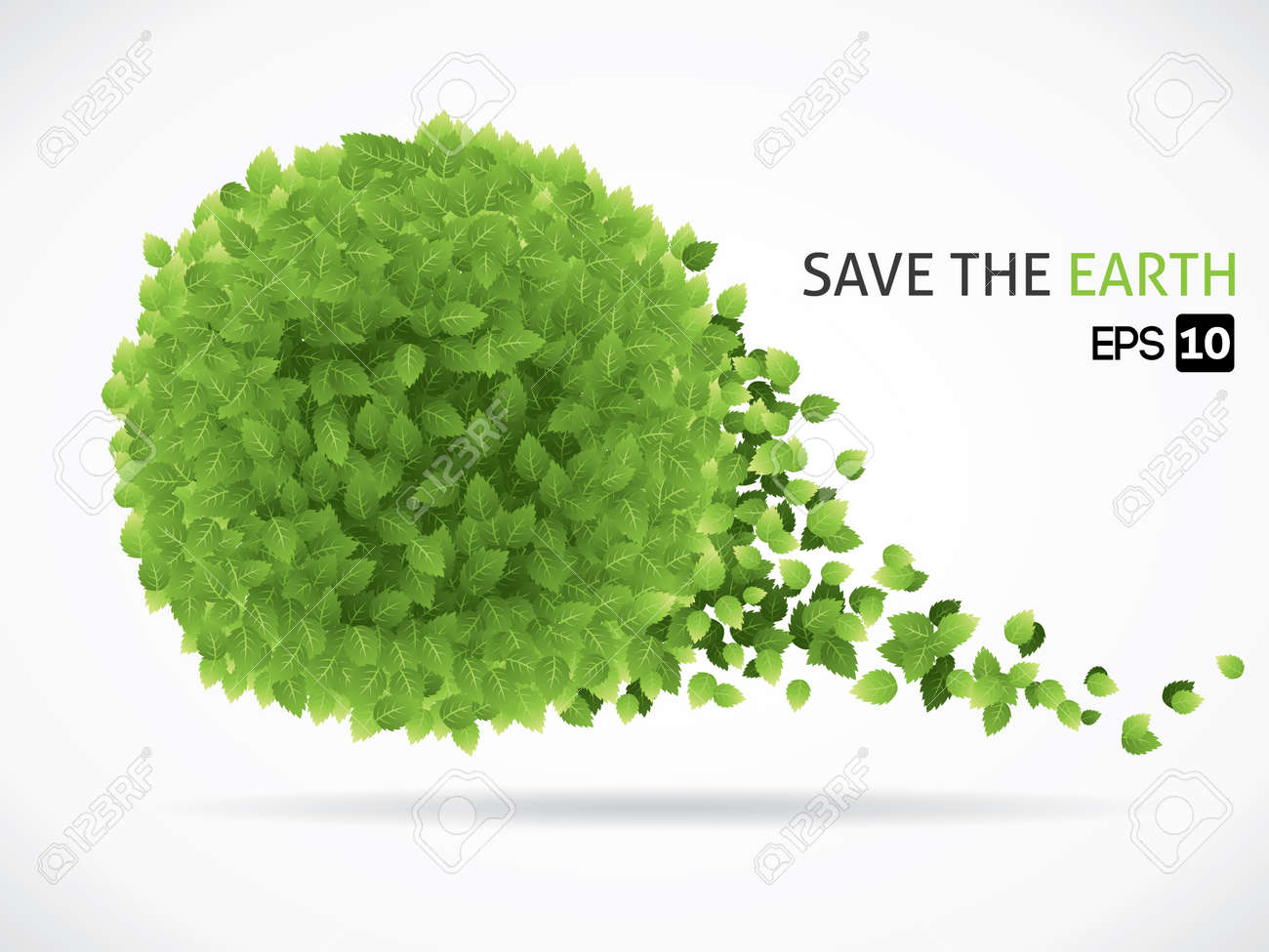 Save the earth Stock Vector - 20010487