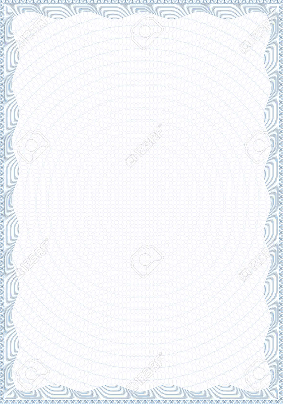 Guilloche style form for diploma or certificate royalty free guilloche style form for diploma or certificate stock vector 7973051 yelopaper Choice Image