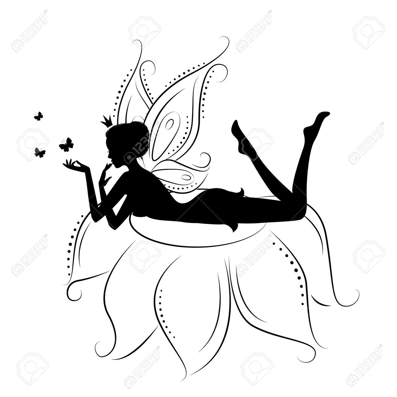 fairy silhouette images u0026 stock pictures royalty free fairy