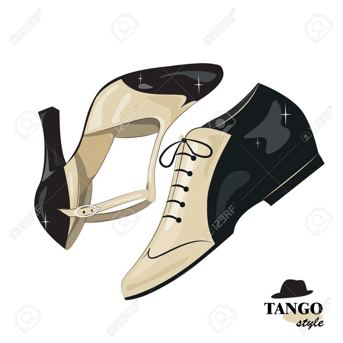 Elégant femmes et chaussures pour homme. isolé sur fond blanc.