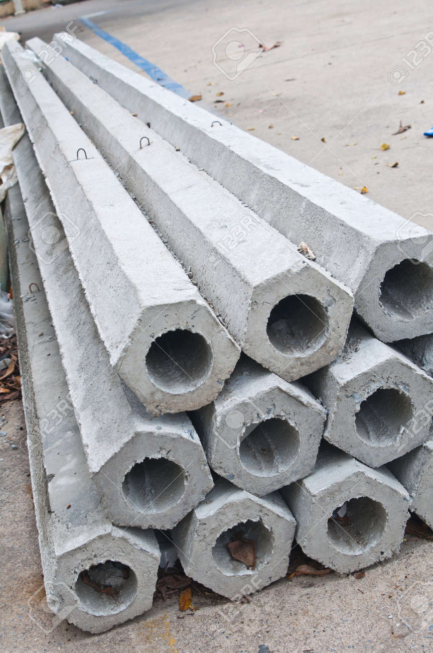 Pillars for construction Stock Photo - 15163649