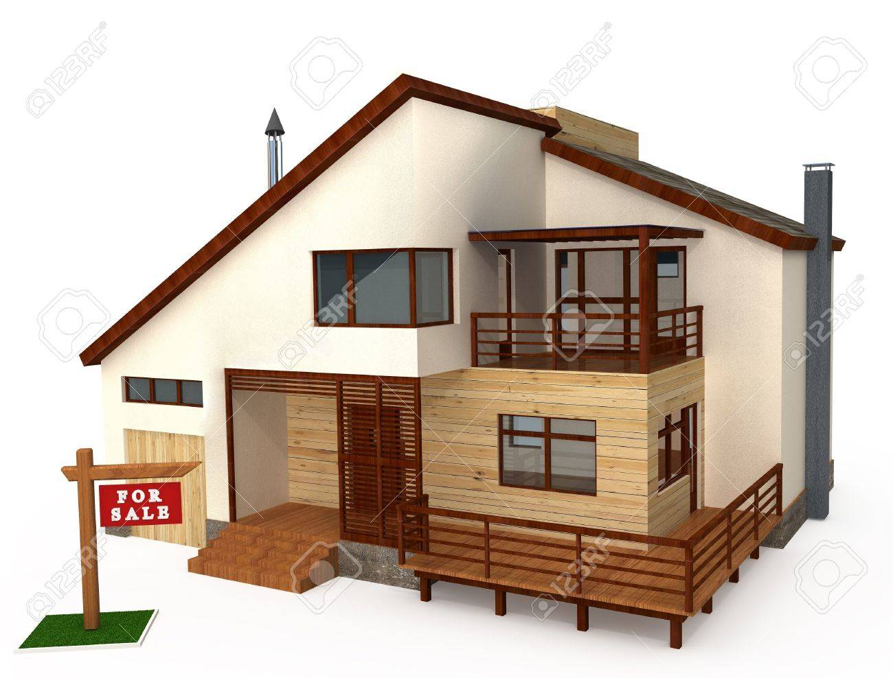 Individual house model pictures