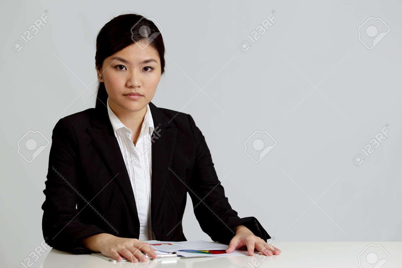 Corporate themed image of business people Stock Photo - 10336578