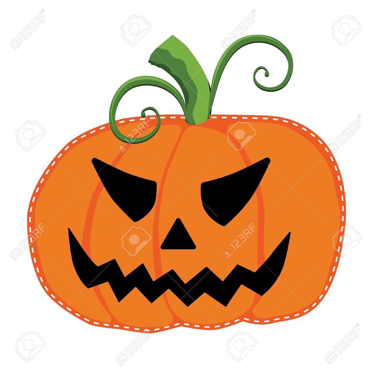 jack o lantern or carved pumpkin on a transparent background royalty rh 123rf com Pumpkins and Fall Leaves Clip Art Bright Pumpkin Clip Art
