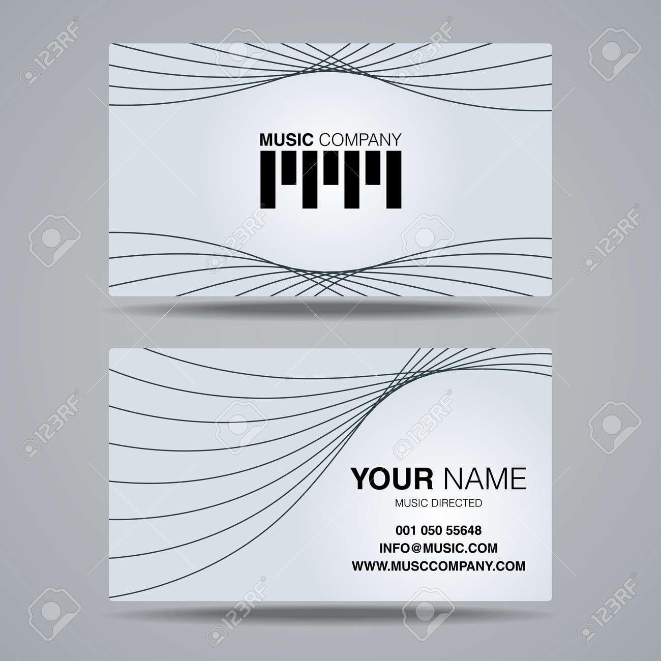 Musique Socit Modle Nom De La Carte Le Nom De Carte De Visite De