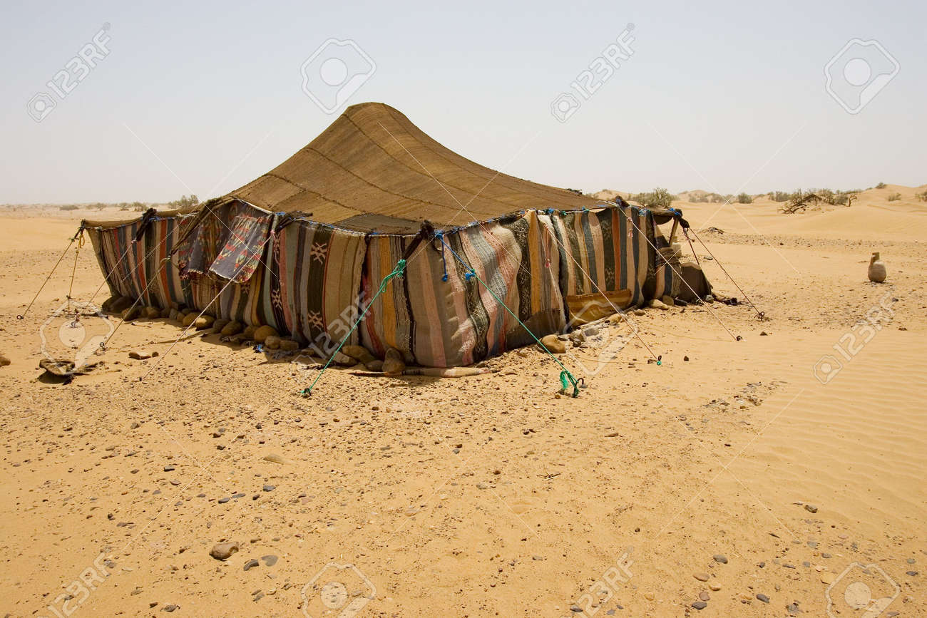 The bedouins tent in the sahara morocco Stock Photo - 2143075 & The Bedouins Tent In The Sahara Morocco Stock Photo Picture And ...