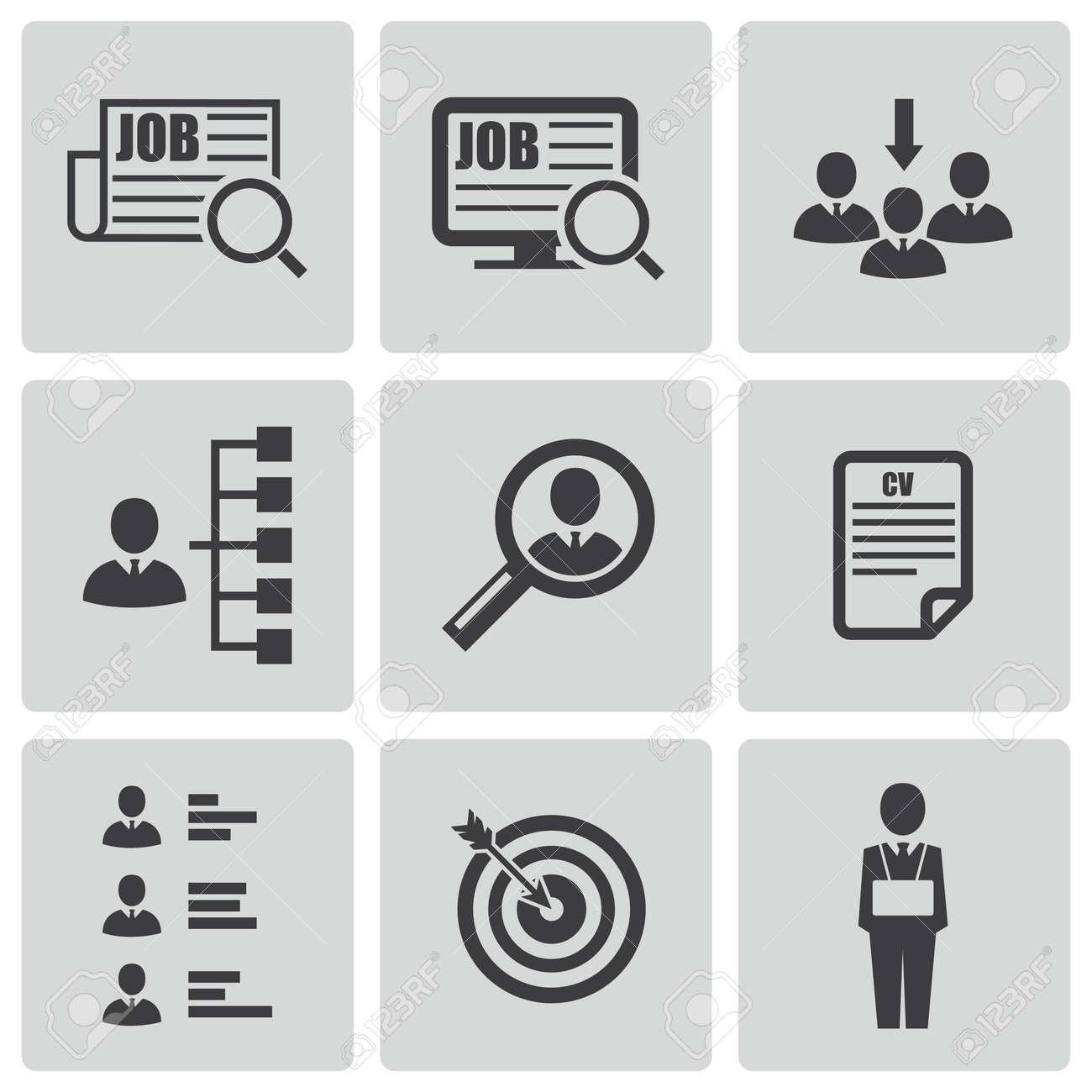 job vacancy stock photos images royalty job vacancy images job vacancy black job search icons set