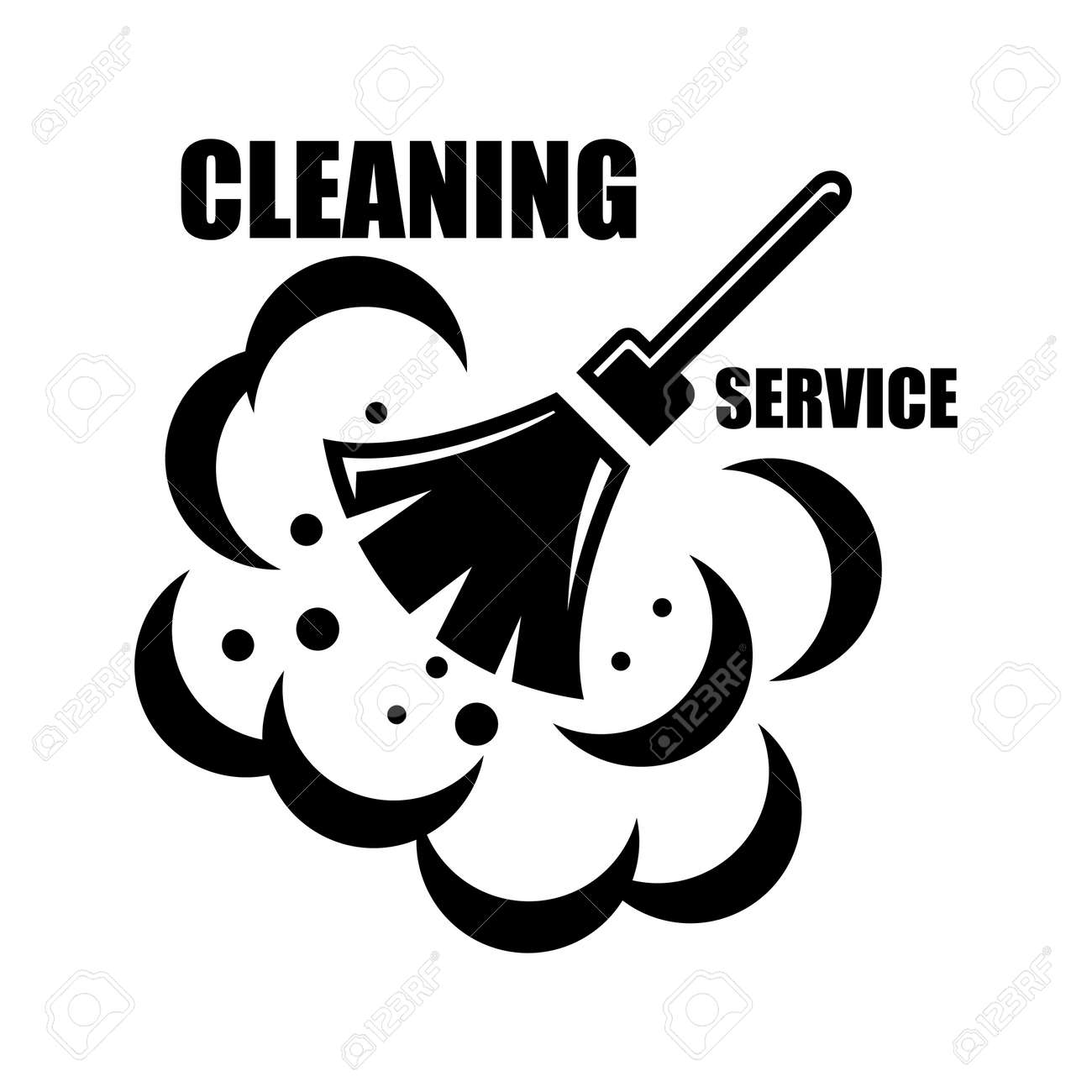 6 426 cleaning service stock illustrations cliparts and royalty cleaning service vector cleaning service icon on white background cleaning service emblems labels