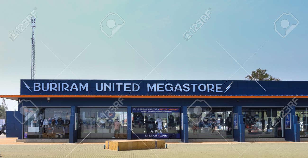 Stock Photo - The Megastore of Buriram United