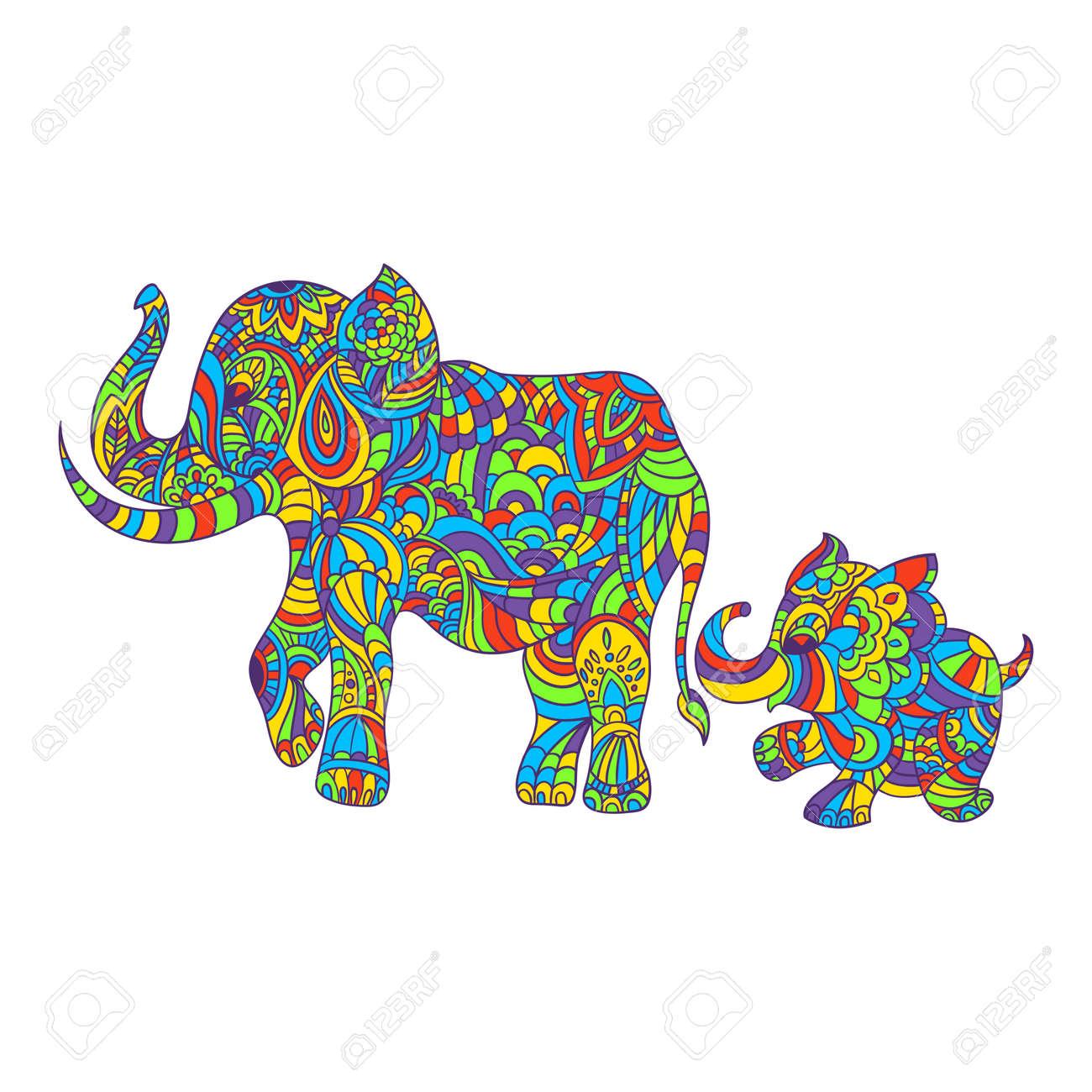 Magnífico Página Para Colorear De Elefante Bebé Imágenes - Dibujos ...