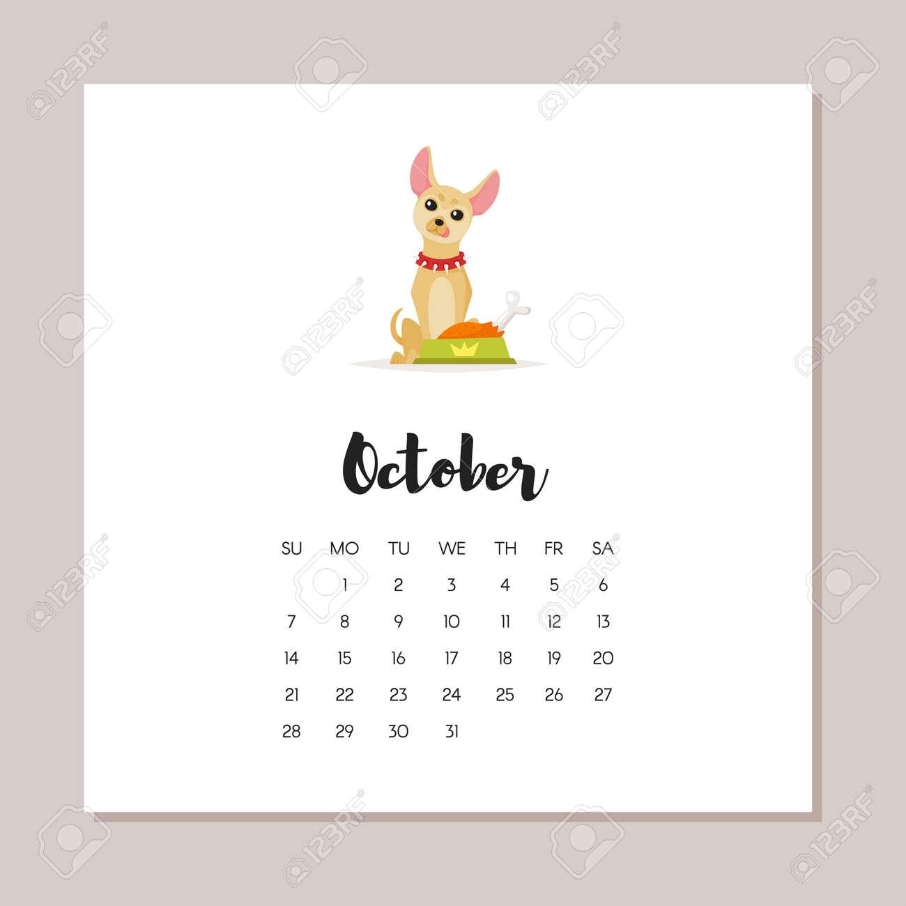 55325033c79fa blanco calendario agosto septiembre octubre noviembre 2018 para imprimir.  ilustración de estilo de. ilustración de estilo de dibujos animados de  vector del ...