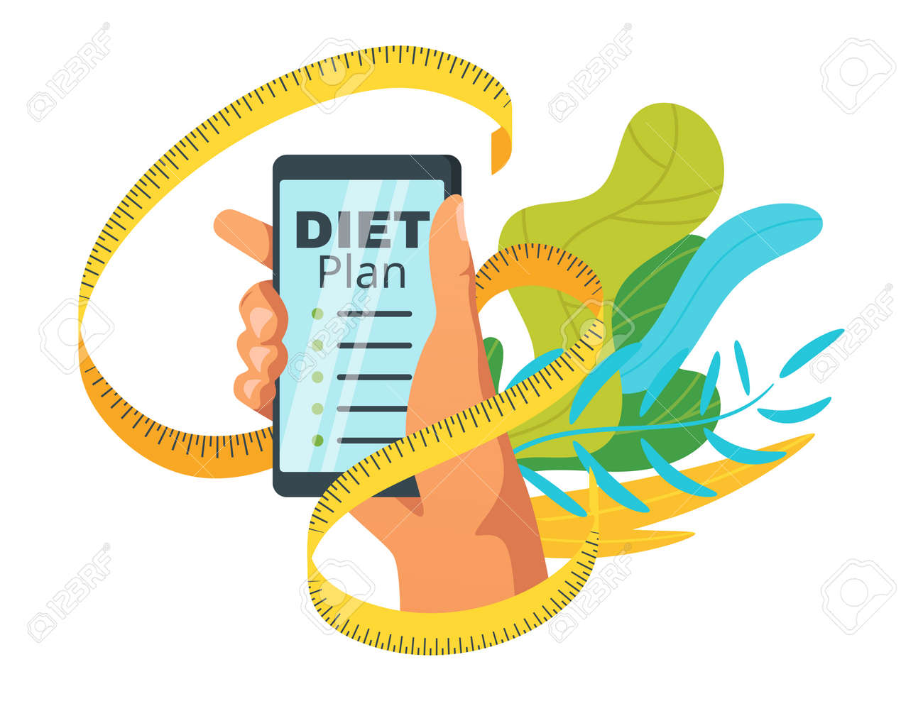 Diet plan loss calorie