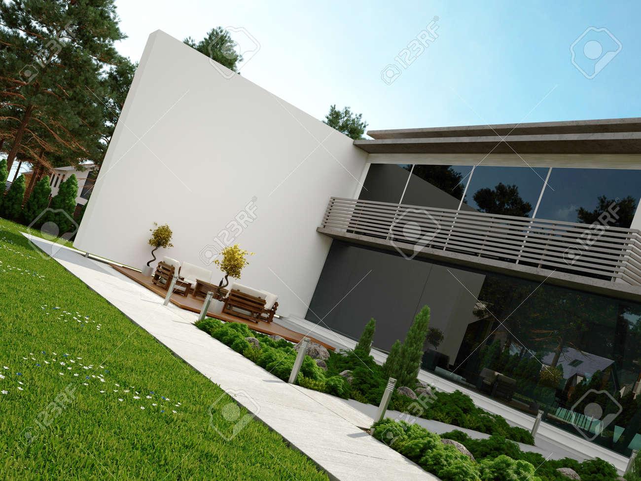 Moderne Terrasse ~ Hausdesign.pro