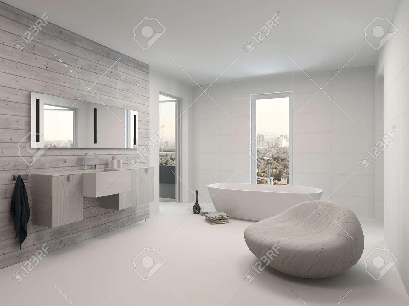 Reines Weiss Modernen Luxus Badezimmer Interieur Lizenzfreie Fotos Bilder Und Stock Fotografie Image 28772347