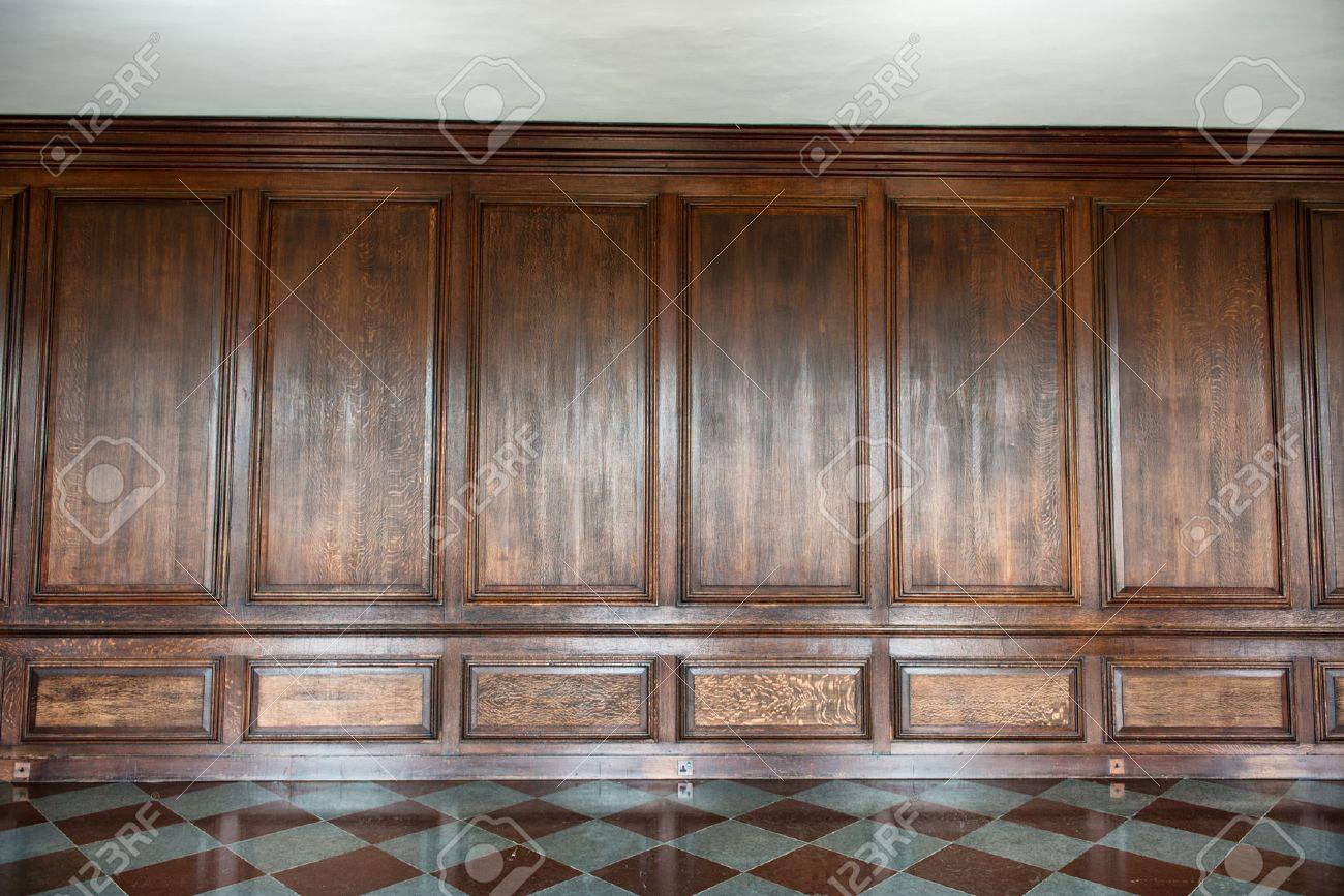 Imagen De Fondo Con Nadie Paneles De Madera Medieval Que Cubre Una  ~ Panelados De Madera Para Paredes