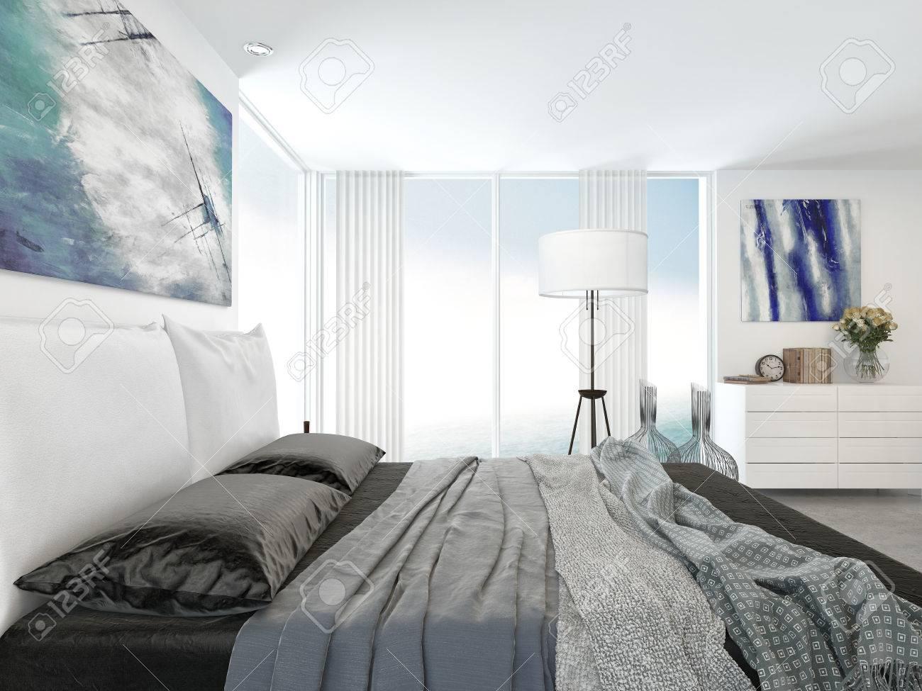 Camera Da Letto Bianco E Argento : Camera da letto moderna rovere ...