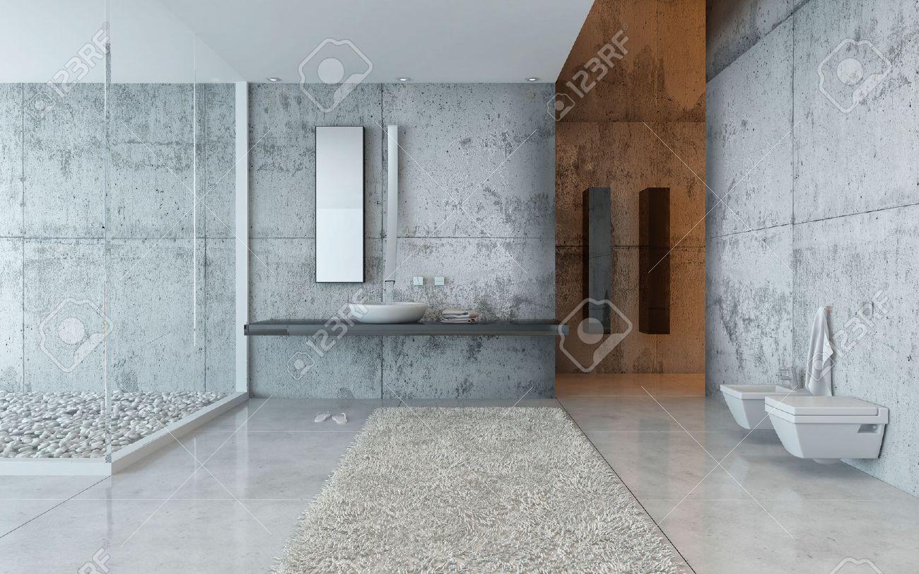Minimalistische badkamers: binnenland van de luxe het ...