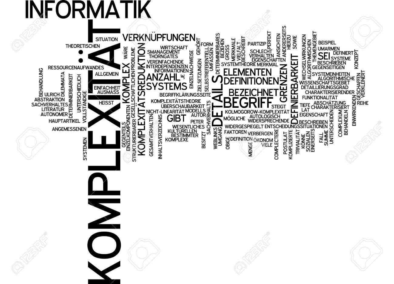 単語の雲 - 複雑さ ロイヤリティ...