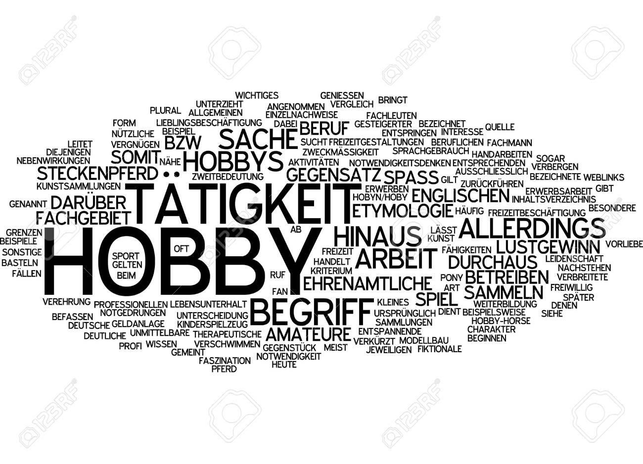 hobbies beispiele