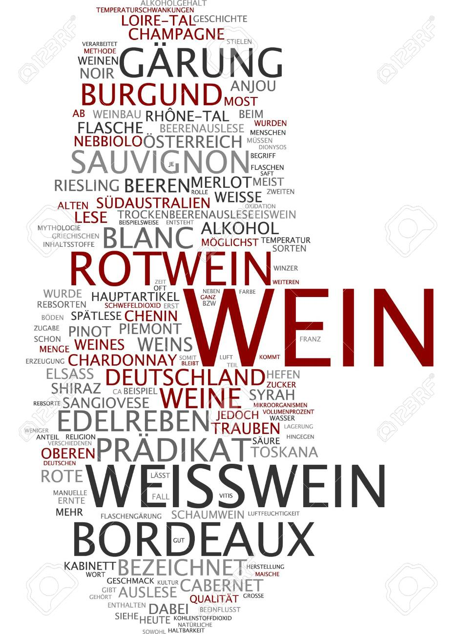 Word Cloud Wine Stock Photo Picture And Royalty Free Image Image