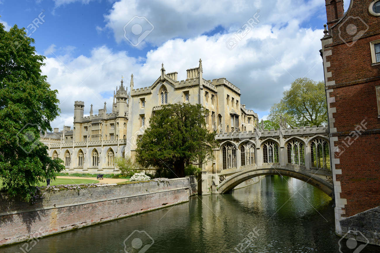 St johns college cambridge university and the bridge of sighs st johns college cambridge university and the bridge of sighs over the river cam baditri Gallery