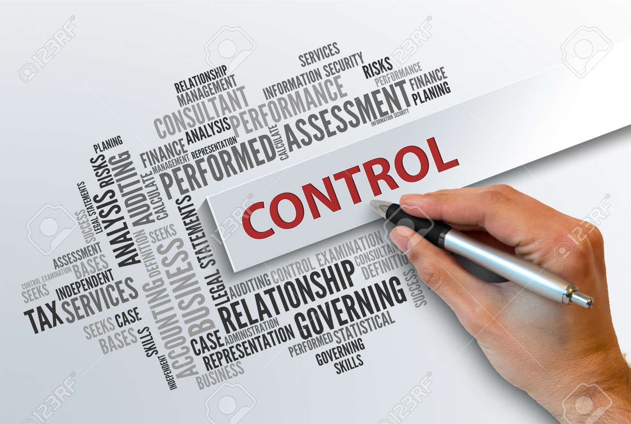 CONTROL   Business Abstract Concept - 54596088