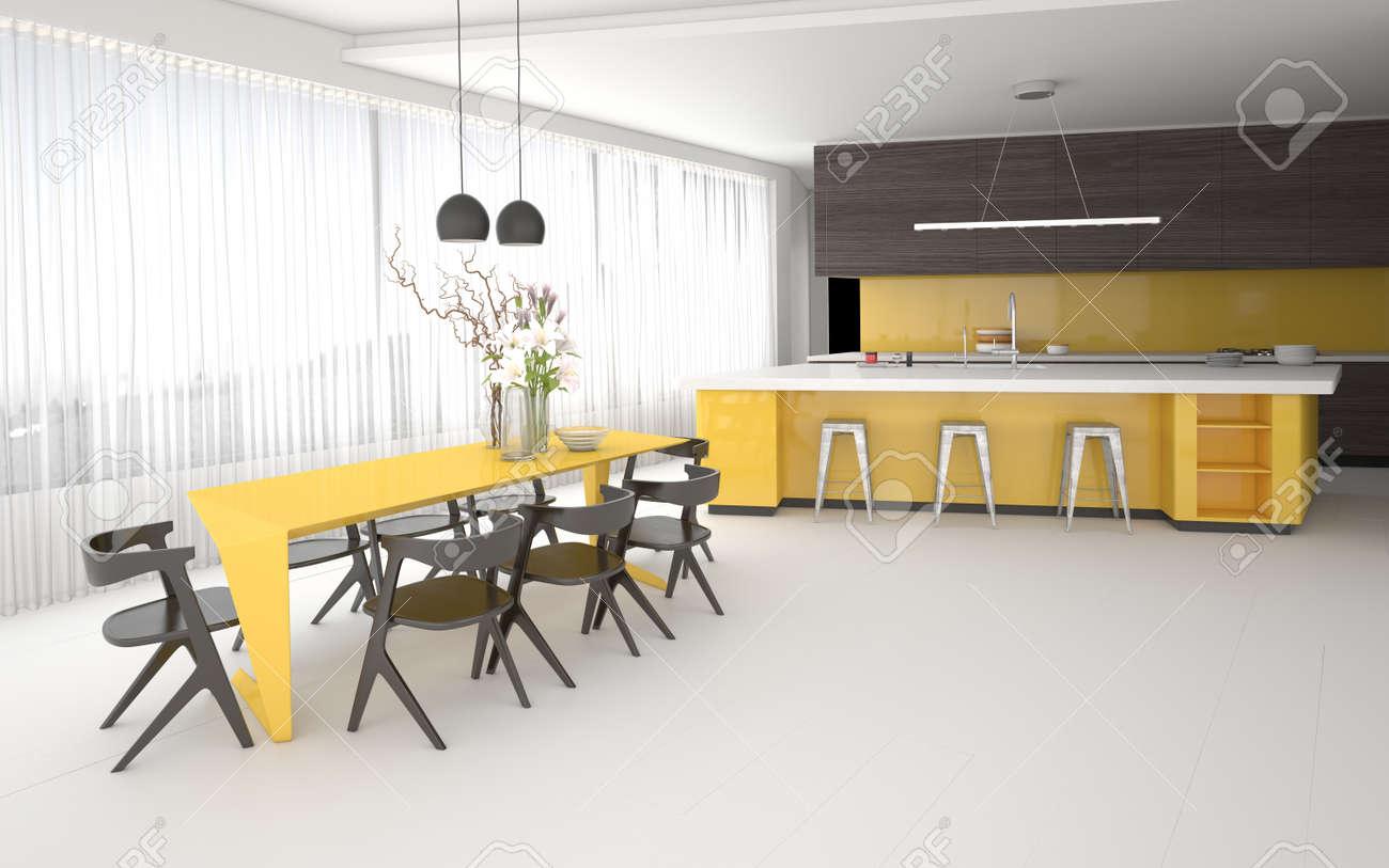 Awesome Cucina Sala Open Space Gallery - Acomo.us - acomo.us