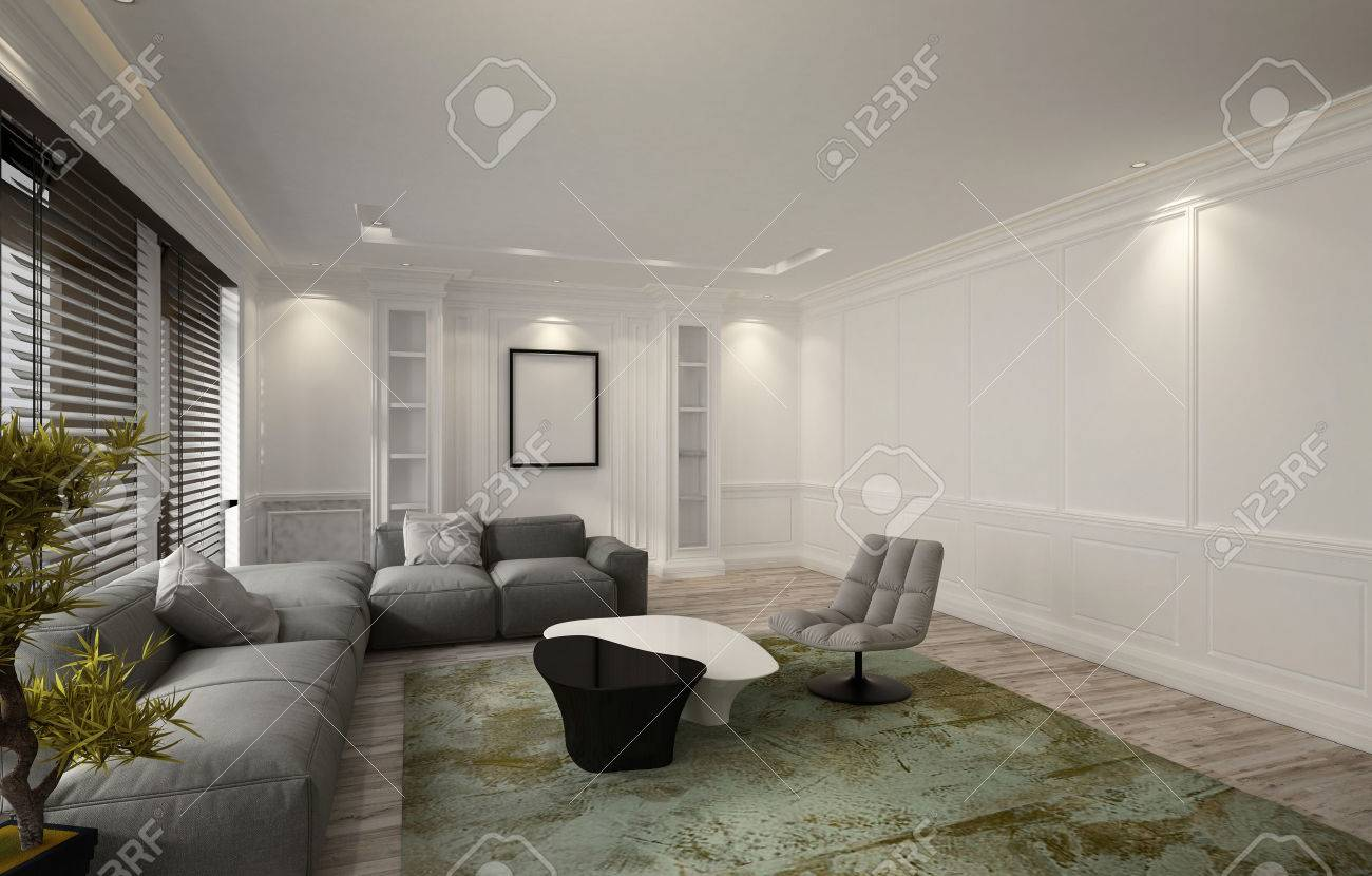 Tappeto Salotto Verde : Snug illuminato lusso salotto o in interni tana con un comodo unità