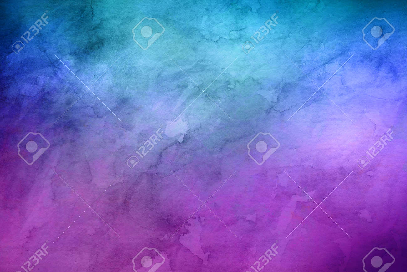 Blue and purple marbled random background with copy space for marketing or concepts about the unknown Standard-Bild - 65798732