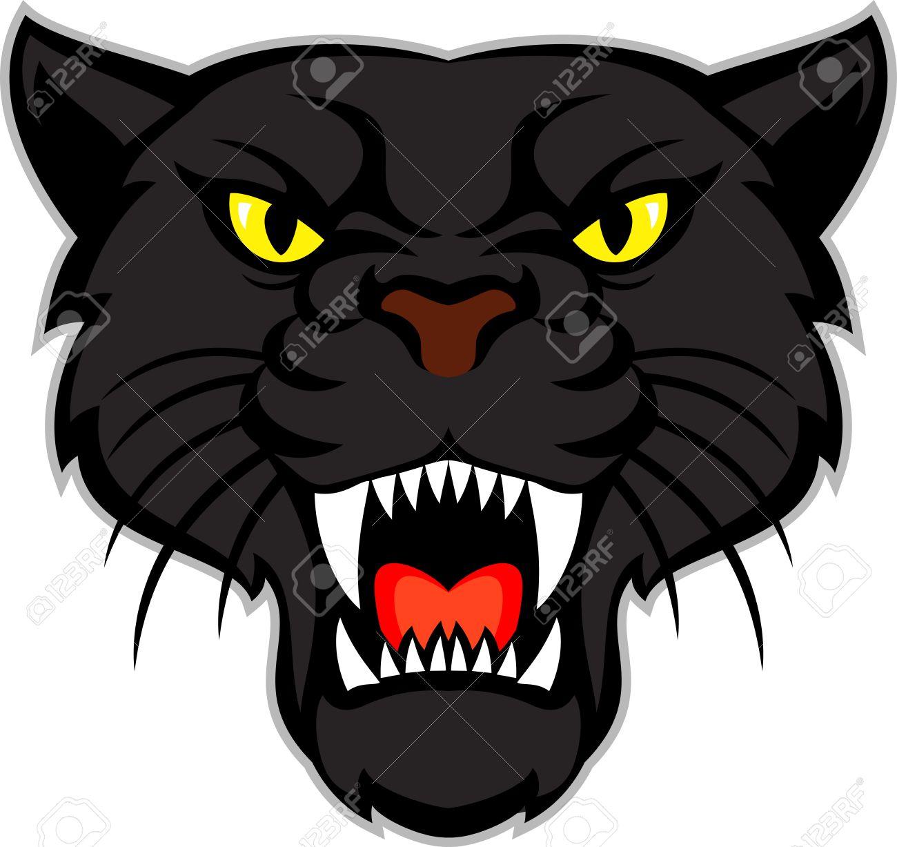 black panther head - 60988323