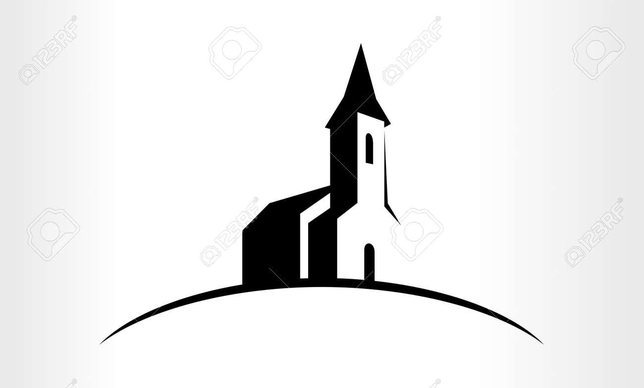 Illustration of a Church - 64911214