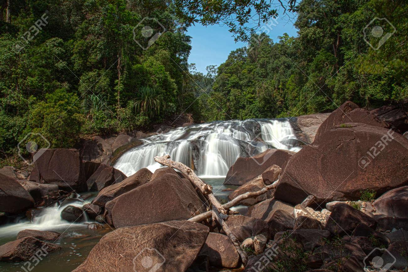 Waterfall Malaysia Johor at Malaysia Johor National