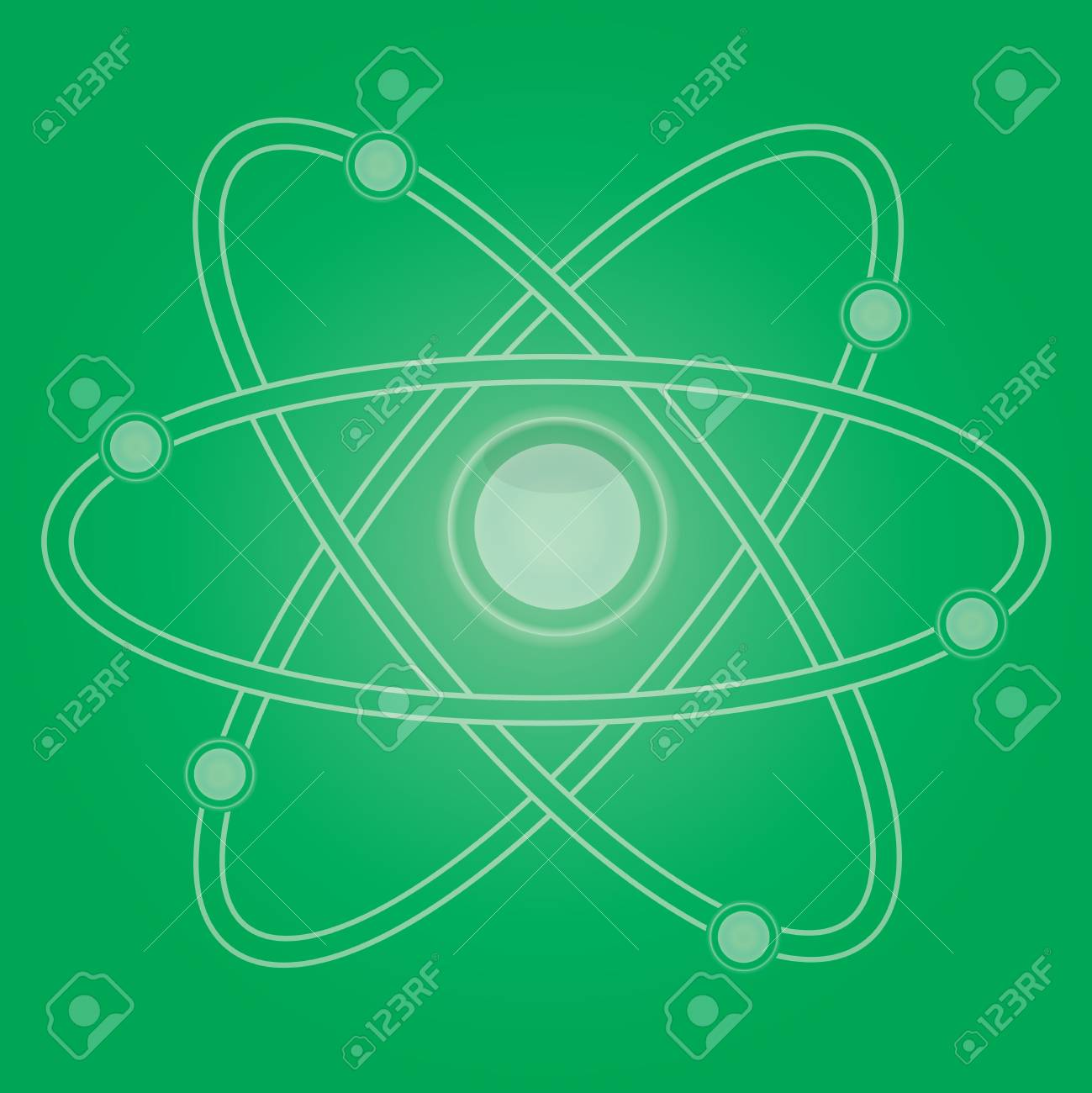 atom part vector Stock Vector - 13858694
