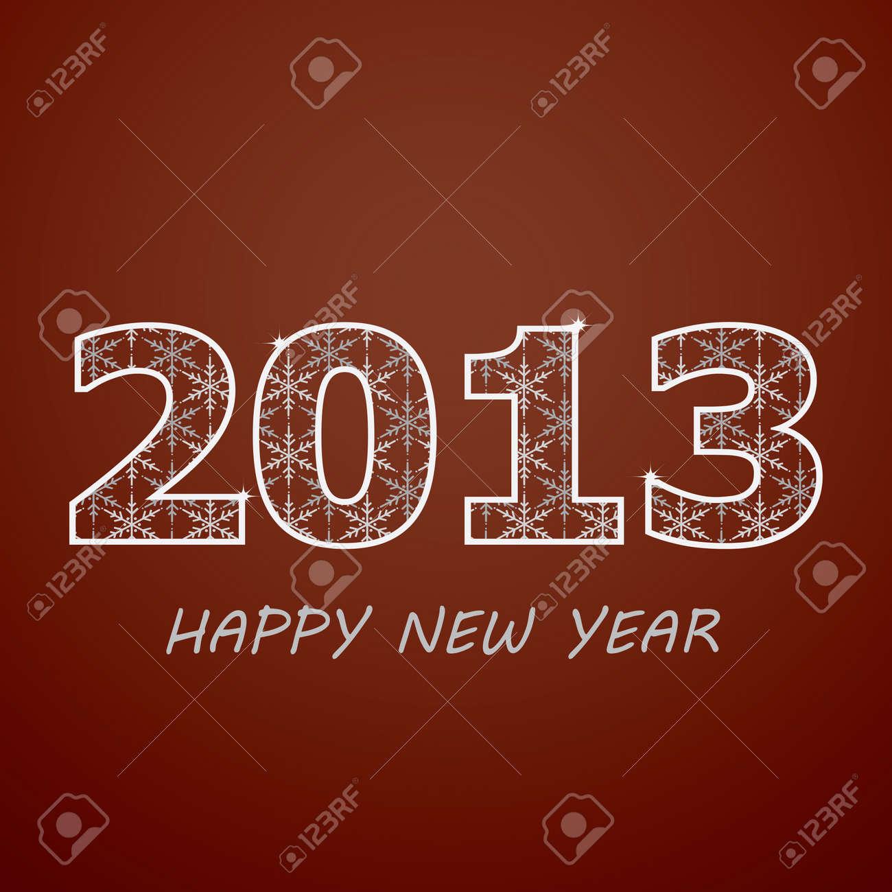 New year 2013 Stock Vector - 15260540