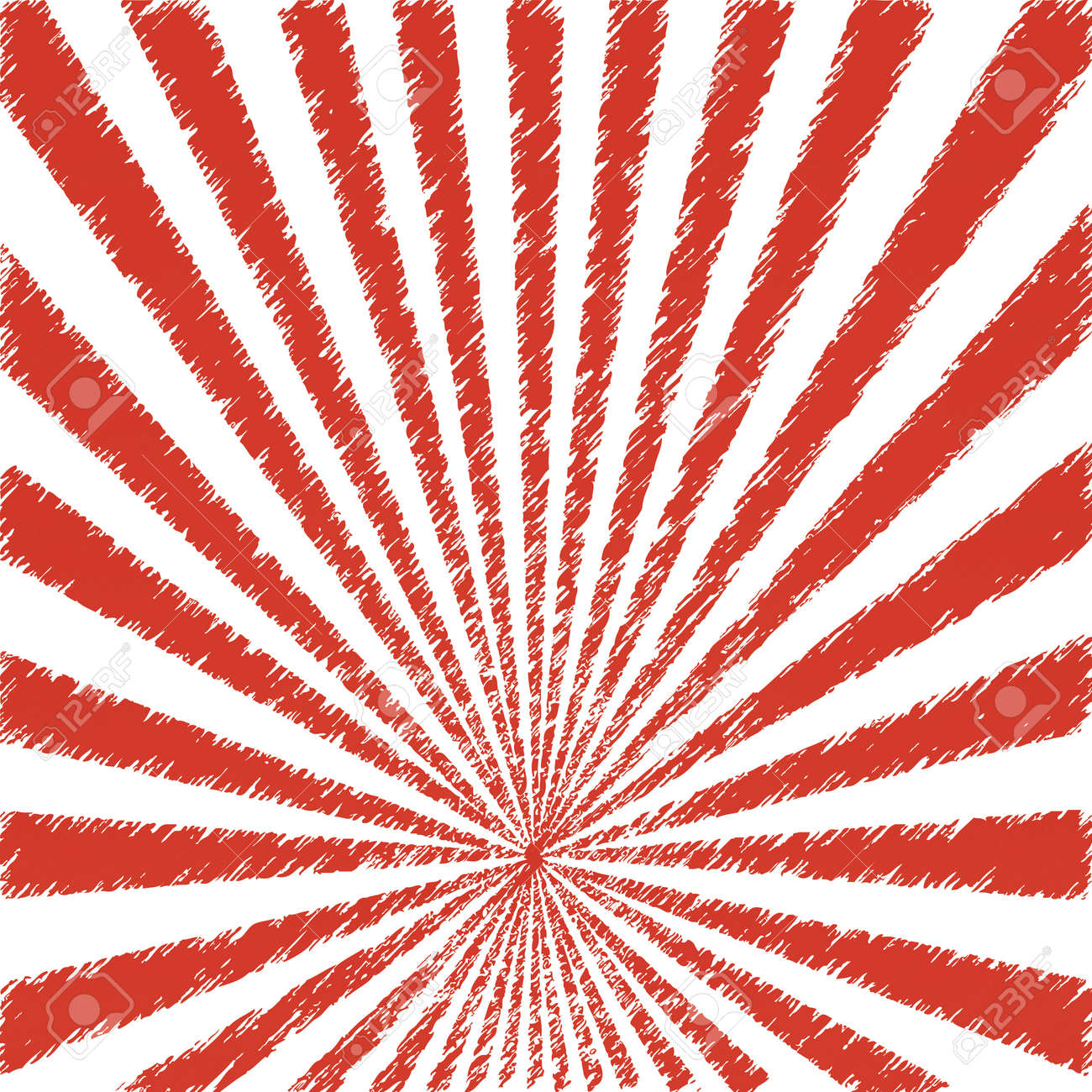 Vector abstract background of red star burst .vector Stock Vector - 19859247