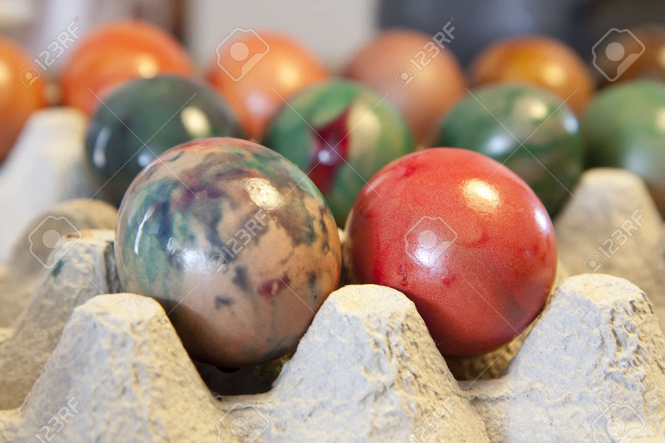 Images of Hard Boiled Easter Eggs - The Miracle of Easter