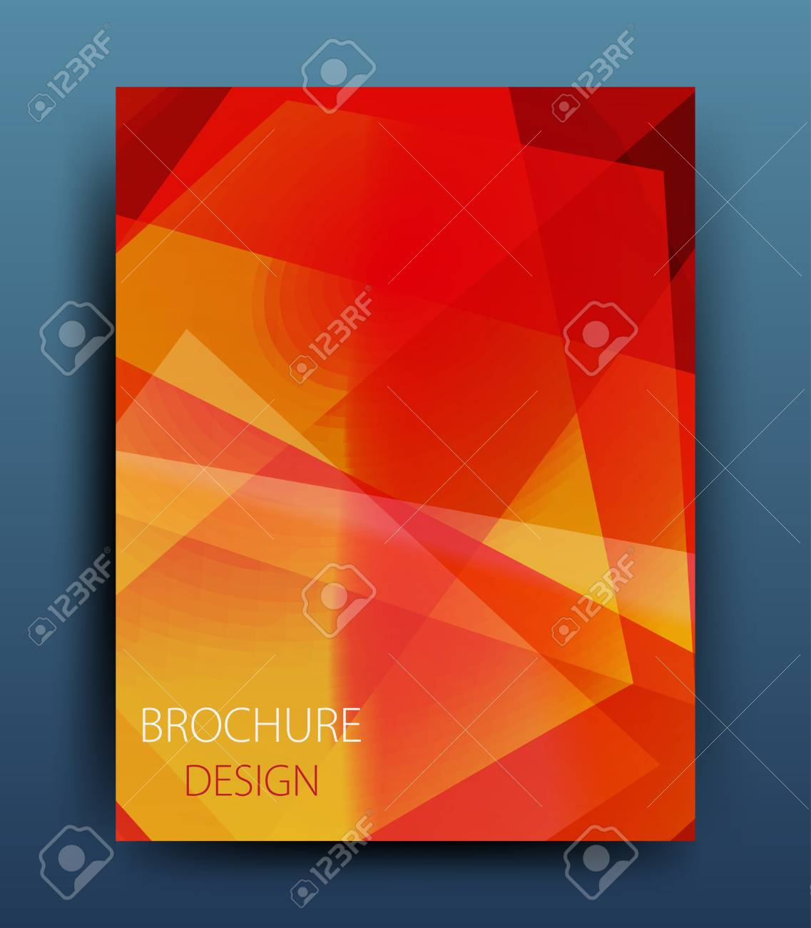 vector vector business brochure flyer template or corporate banner design