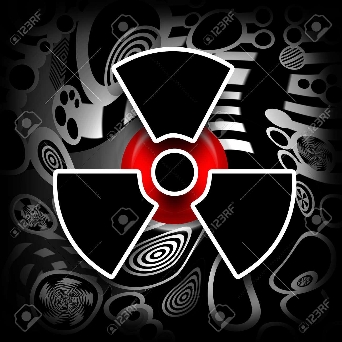 Nuclear meltdown black radioactive symbol on melting industrial nuclear meltdown black radioactive symbol on melting industrial metal background stock photo 9283466 buycottarizona