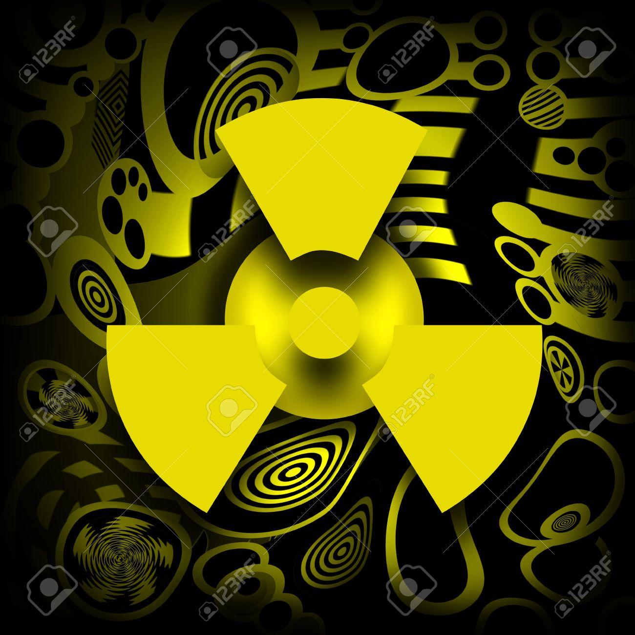 Radioactive symbol on destroyed industrial background stock photo radioactive symbol on destroyed industrial background stock photo 12701514 buycottarizona