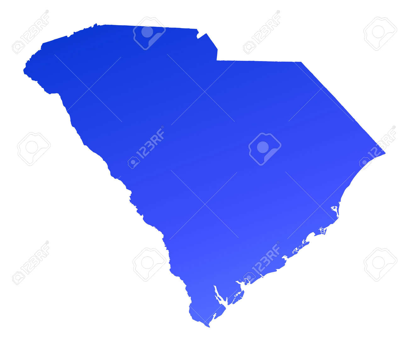 Reference Map Of South Carolina USA Nations Online Project - Map of usa showing south carolina