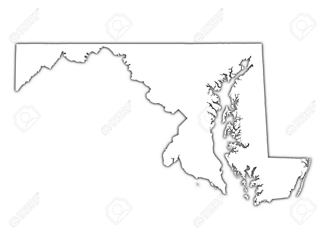 Prewiev Of USA Vector Map Mercator Projection Choosing The Right - Us map mercator