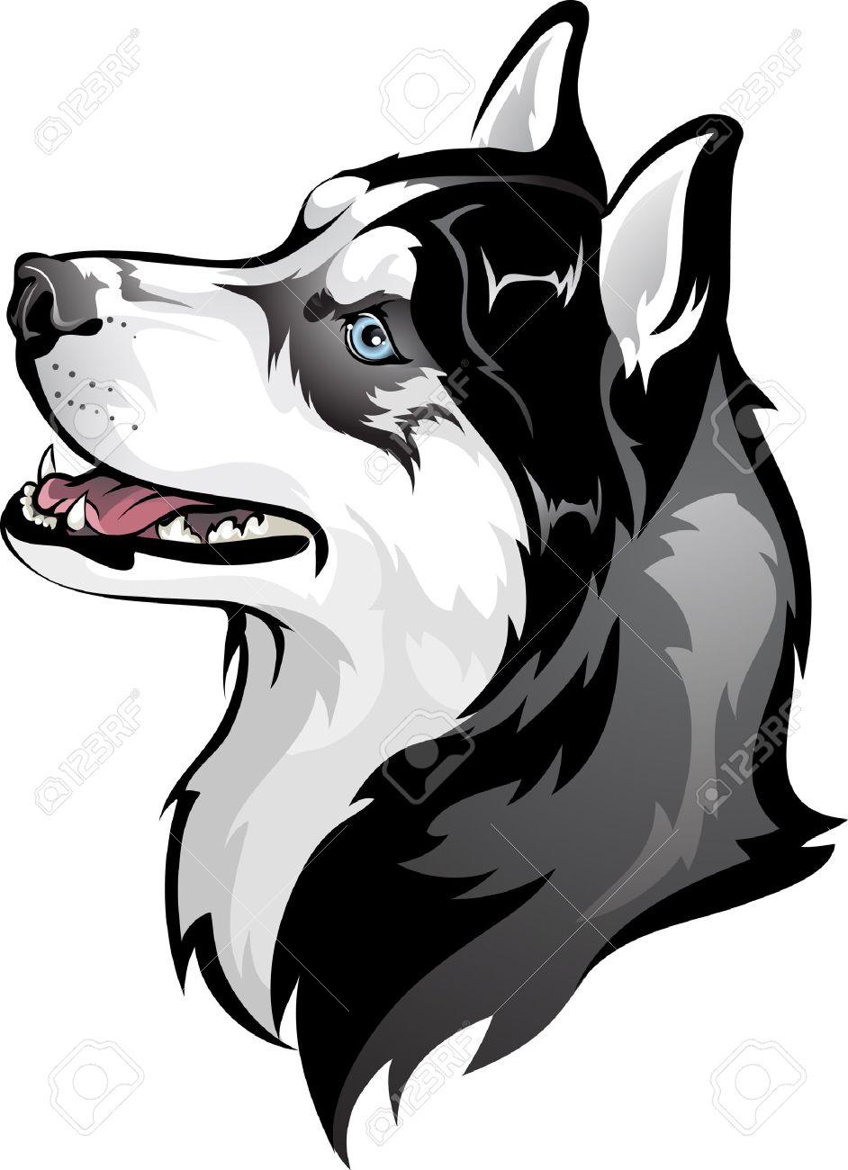 Husky Dog Clipart Siberian Husky Dog Husky