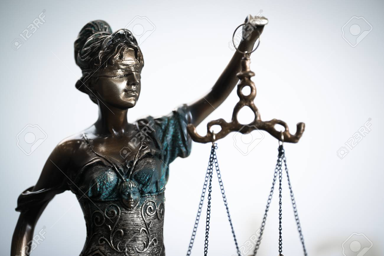 Symbols For Balance And Power In Law And Court C Chn Stock