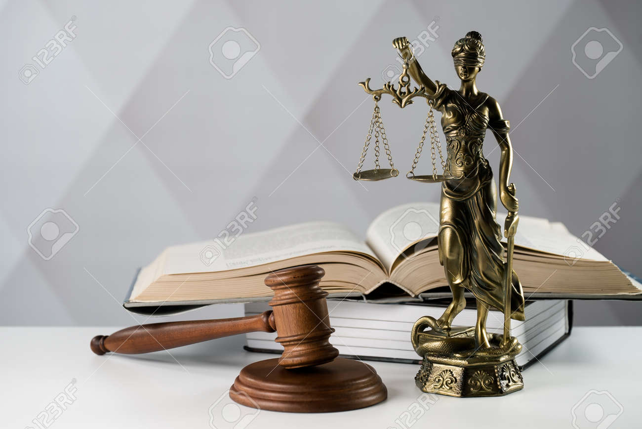 Legal law concept image, the Statue of justice - 92440591